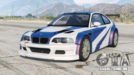 BMW M3 GTR (E46) Mais Procurado〡d-on v2.2 para GTA 5