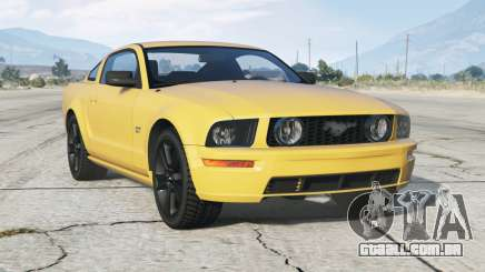Ford Mustang GT 2005〡rodo preto〡add-on para GTA 5