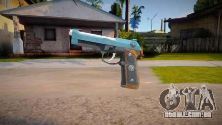 RE2: Remake - Samurai Edge Colt v2 para GTA San Andreas
