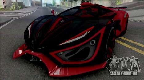 Inferno Exotic Car 2016 para GTA San Andreas