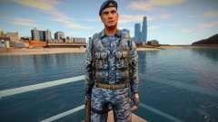 Comando russo em um colete à prova de balas para GTA San Andreas