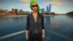 Fortnite - Toxin Fashion Casual V2 Jacket LV para GTA San Andreas