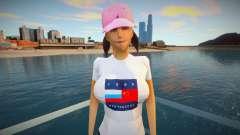 Garota em roupas da moda para GTA San Andreas