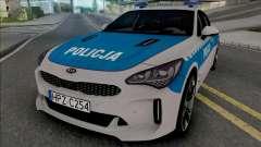 Kia Stinger GT Policja WRD KSP