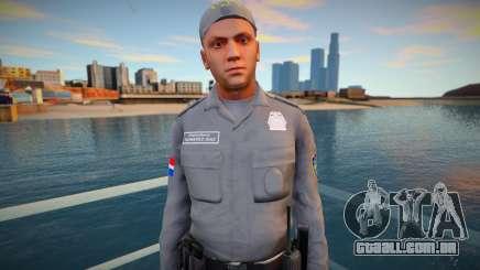 Policia Dominicano para GTA San Andreas