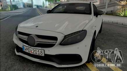 Mercedes-AMG C63 S Coupe 2016 para GTA San Andreas