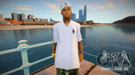 New swmyst in white para GTA San Andreas