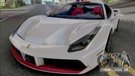 Ferrari 488 GTB 70th Anniversary para GTA San Andreas