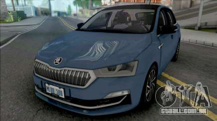Skoda Rapid Combi 2020 para GTA San Andreas