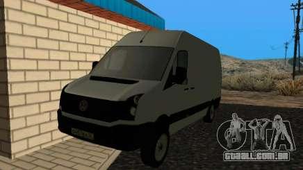 Volkswagen Crafter light - Cargo version para GTA San Andreas