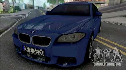 BMW F10 M Sport 520d 2011 para GTA San Andreas