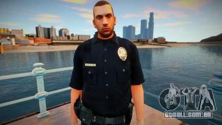 New lapd1 skin para GTA San Andreas