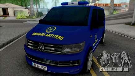 Volkswagen Transporter SRI Brigada AntiTero para GTA San Andreas