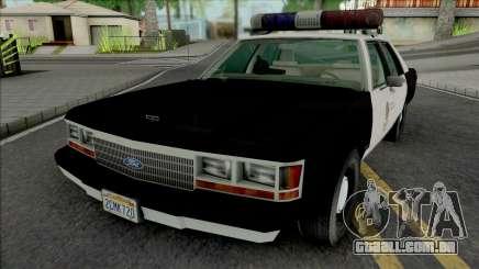 Ford LTD Crown Victoria 1991 LAPD para GTA San Andreas