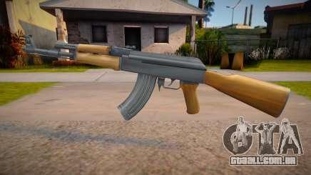 New AK-47 (good weapon) para GTA San Andreas