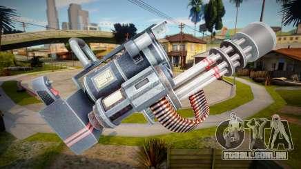 Minigun - Dead Rising 4 para GTA San Andreas