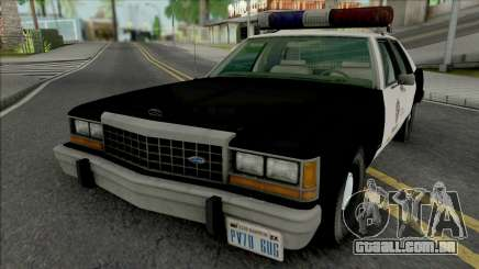 Ford LTD Crown Victoria 1987 LAPD para GTA San Andreas
