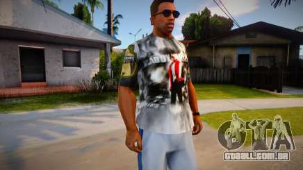 Daddy Yankee T-Shirt for CJ para GTA San Andreas