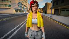 Dead Or Alive 5 - Mila (Costume 6) para GTA San Andreas