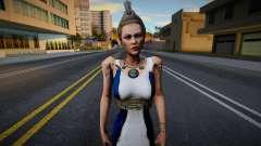 Hera God of War 3 v2 para GTA San Andreas