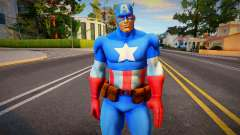 Captain America (Marvel vs Capcom 3) para GTA San Andreas