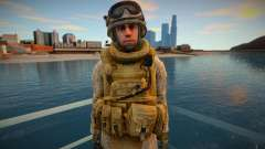 Call Of Duty Modern Warfare 2 - Desert Marine 3 para GTA San Andreas