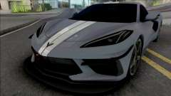 Chevrolet Corvette Stingray 2020 para GTA San Andreas