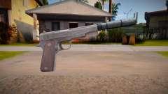 Colt M1911 with silenced para GTA San Andreas