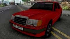 Mercedes-Benz W124 from Taxi Movie para GTA San Andreas
