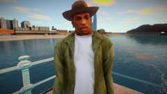 Cj With Camo Pants and Cowboy Hat (ped Model)