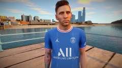 [PES21] Lionel Messi in PSG para GTA San Andreas