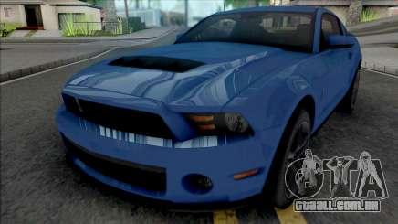 Ford Mustang Shelby GT500 2010 para GTA San Andreas