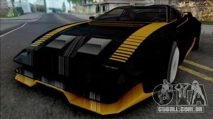Quadra Turbo-R V-Tech Cyberpunk 2077 [SA Style] para GTA San Andreas