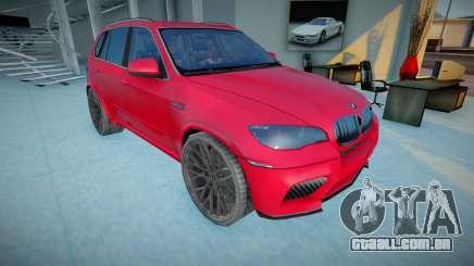 2011 BMW X5 M E70 para GTA San Andreas
