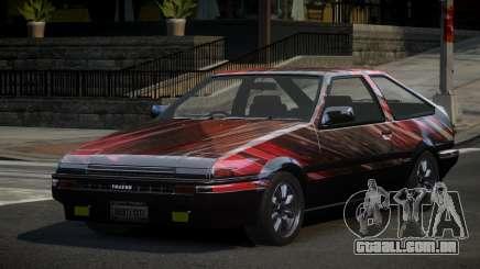 Toyota Corolla AE86 Qz PJ4 para GTA 4