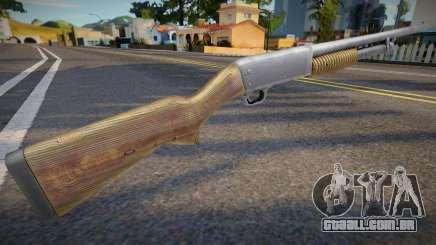 Remaster chromegun para GTA San Andreas
