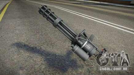 Quality Minigun para GTA San Andreas