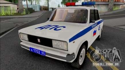 Vaz-2105 Polícia para GTA San Andreas