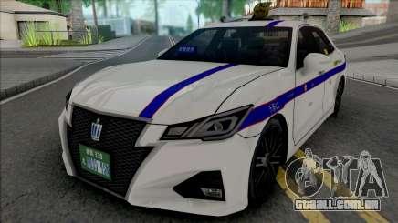 Toyota Crown Athlete 2016 Private Taxi para GTA San Andreas