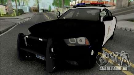 Dodge Charger 2012 LAPD para GTA San Andreas