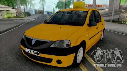 Dacia Logan 2004 Taxi para GTA San Andreas