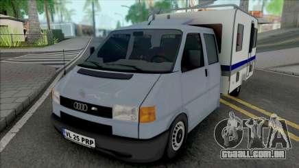 Volkswagen Transporter T4 Camper Van Tuning para GTA San Andreas