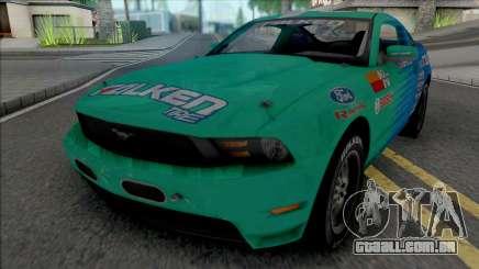 Ford Mustang GT 2010 Formula Drift Falken Tire para GTA San Andreas