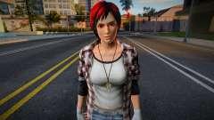 Dead Or Alive 5 - Mila (Costume 2) 4 para GTA San Andreas