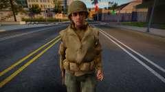 Call of Duty 2 American Soldiers 4 para GTA San Andreas