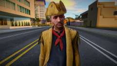 Male Pirate from GTA Online para GTA San Andreas