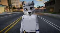 Roblox Detective Wolf (JohnnySilverPaw) para GTA San Andreas