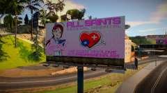 LQ Anime Billboard para GTA San Andreas