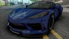 Chevrolet Corvette Stingray 2020 Rocket Bunny para GTA San Andreas