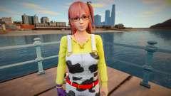 Dead Or Alive 5: Last Round - Honoka (good skin) para GTA San Andreas